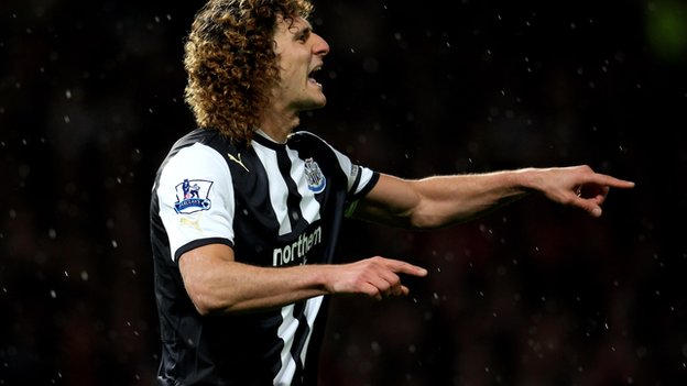 Newcastle's Fabricio Coloccini