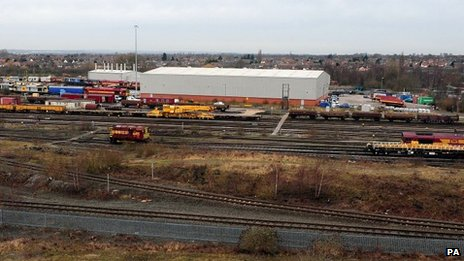 Toton sidings