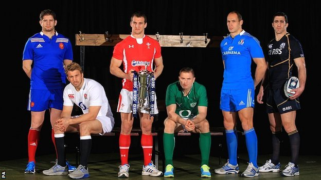 Six Nations captains