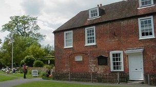 Jane Austen&#039;s house at Chawton