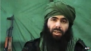Al-Qaeda in the Islamic Maghreb (AQIM) commander Abu Musab Abdel Wadoud (26 July 2010)