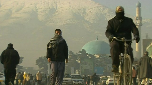 Kabul street scene