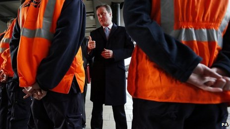 David Cameron in Leeds