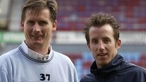 Glenn Roeder and Lee Bowyer