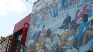Matonge mural