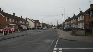 A street in Toton