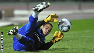 Swansea goalkeeper Michel Vorm