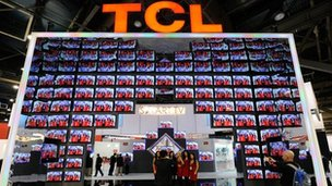 TCL at CES 2013