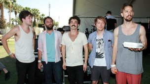 Local Natives at Coachella 2010