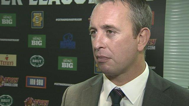 England head coach Steve McNamara