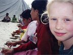 Michael Wood's daughter at Kumbh Mela in 2001