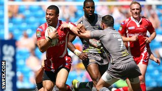 Salford City Reds v Huddersfield Giants