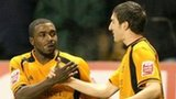 Sylvan Ebanks-Blake and Stephen Ward