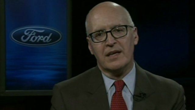 Bob Shanks, Ford&#039;s Chief Financial Officer