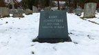 Kurt Schwitters' gravestone