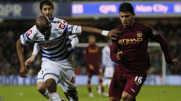 QPR v Man City