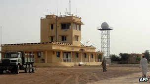 Kidal airport, Mali, August 2012
