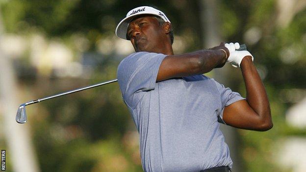 Fiji golfer Vijay Singh