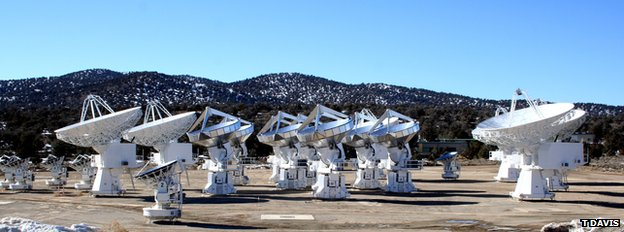 Carma array in California