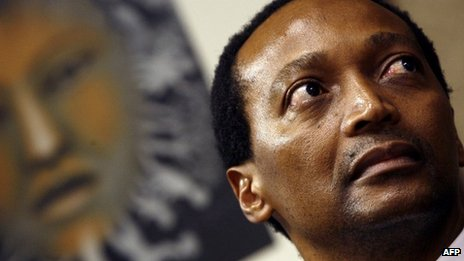 Patrice Motsepe pictured in 2008