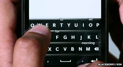 BlackBerry keyboard