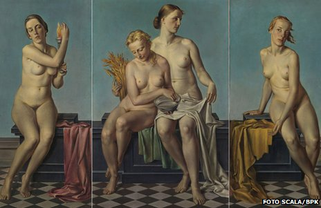 The Four Elements, by Adolf Ziegler (credit: Foto Scala, Firenze/BPK, Bildagentur fuer Kunst, Kultur und Geschichte, Berlin)