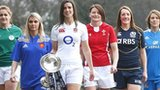 The captains of the 2013 Women's Six Nations