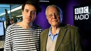 Nick Grimshaw and David Attenborough