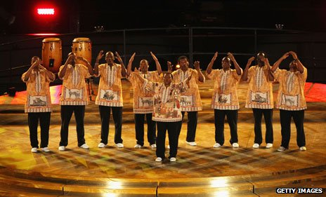 Ladysmith Black Mambazo at the Fifa World Cup 2010
