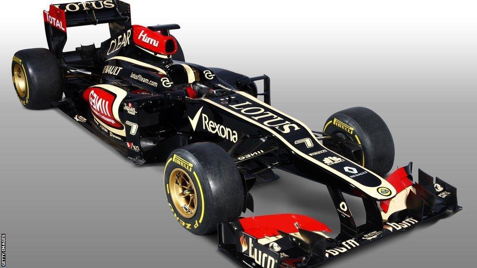 Formula 1 2013 Cars