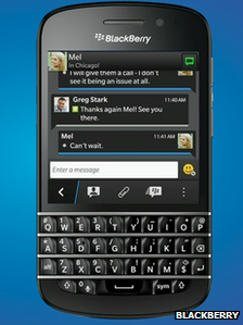 blackberry z10 bbc news