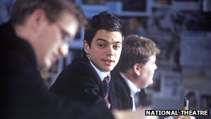 Dominic Cooper (centre) in The History Boys