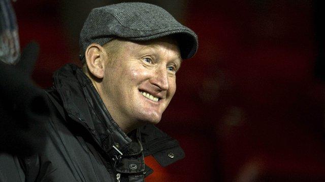 St Johnstone boss Steve Lomas