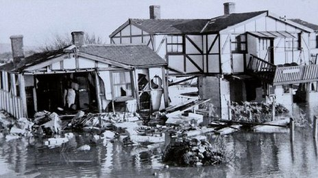 1953 floods in Hunstanton