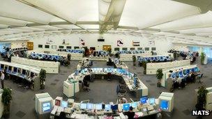 Nats control room