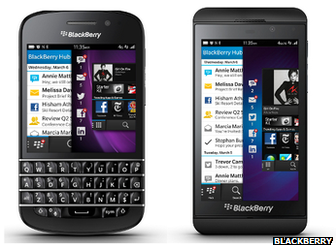 Blackberry 10 handsets