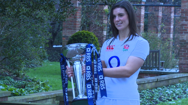 England captain Sarah Hunter