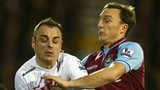 Dimitar Berbatov and Mark Noble