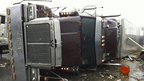 Overturned lorry and trailer in Adairsville. Photo: 30 January 2013
