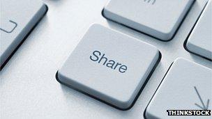 Share key on keyboard