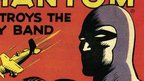 The Phantom comic book cover