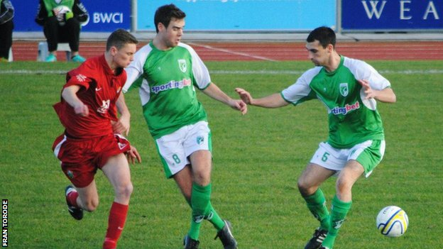 Guernsey's last home league game was against Windsor on 1 December