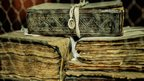 Ancient manuscripts from a library in Djenne, Mali