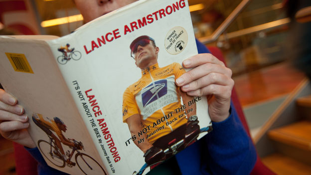 It's not about the bike - Armstrong's first book
