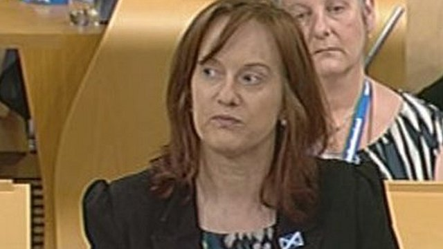 SNP MSP Joan McAlpine