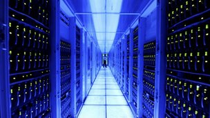 A server room