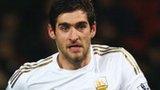 Swansea striker Danny Graham Sunderland