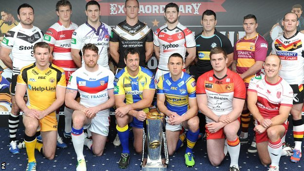 Super League captains