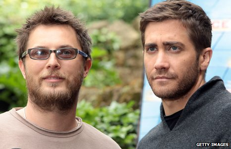 Duncan Jones and Jake Gyllenhaal