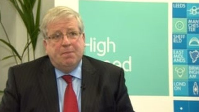 Transport secretary Patrick McLoughlin talks to East Midlands Today about the HS2 route